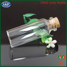 Guangzhou supplier clear glass vial/mini glass liquor bottles for sale/mini glass bottles with corks