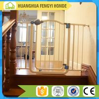 High Quality Extensible Iron Indoor Pet Dog Gate Designs