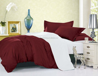 wholesale 100% polyester korean plain microfiber bedding set made in india