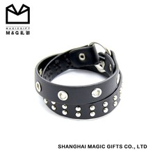 full of personality mens leather bracelet wholesale price