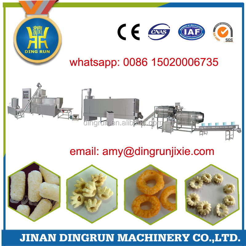 2017 corn flour snacks machine