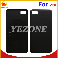 Black Color 100% Original New Mobile Phone Housing Case Back Cover Battery Door Replacement For BlackBerry Z10
