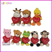 Latest arrival different types plush toy baby pillow holiday gift wholesale price