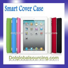 6 Colors Magnetic New Faux Leather Smart Cover Stand Case For Apple iPad 2