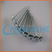made in china bwg8-bwg12 zinc roofing nails for north american market