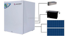 New Type Home use 190L Solar Electric 12v DC Refrigerator and Freezers