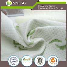 100 percent Polyester mattress protector laminated cloth fabric with Polyurethane
