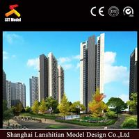 Miniatural Architectural Scale Models Making,3D Architecture Rendering