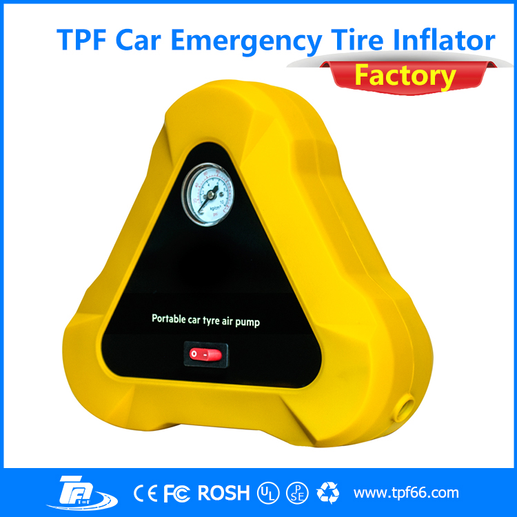 TPF Portable Car Compressor Pump Tire Tyre Inflator <strong>Auto</strong>