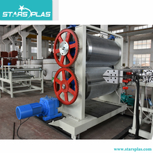 HDPE sheet water drainage pipe extrusion line