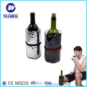Drawstring bottle cooler Made in China