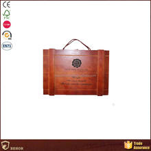 New Hot Fashion First Choice wooden wine box with handicrafts