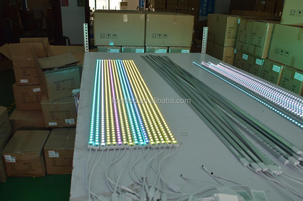 High efficiency SMD2835 led rigid strip indoor decoration atmosphere lamp led strip rigid bar