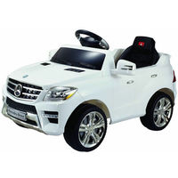 Best Ride On Cars Mercedes Ml-350 Red 6v Ride On 2.4G Bluetooth Remote Control
