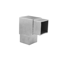 High quality Practical draw 90 degree square tube elbow,90 degree elbow