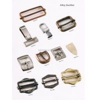 Custom bags metal spring buckles