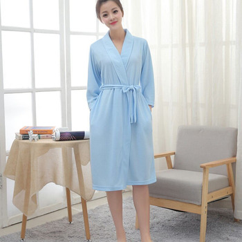 Cheap durable printing hotel bath robe