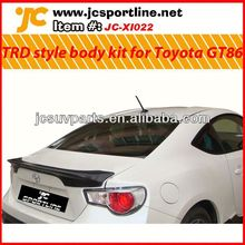 PU Aero Bodystyling for toyota GT86 TRD style PU Aero bodykits car body kit:front lip,side skirts,rear diffuser,spoiler