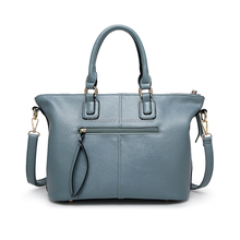 Fashion Women Tote Bags Handbag Lady PU Leather Medium Shoulder Bag