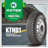 Keter Intertrac China Truck Tyre Factory, Truck Tyre 1000R20, 11R22.5, 315/80R.22.5 385/65R22.5