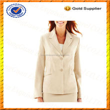 Custom Womens Work Suit Jacket/Fashion Suit Jacket for Girls/Business Suit for Women Wholesale