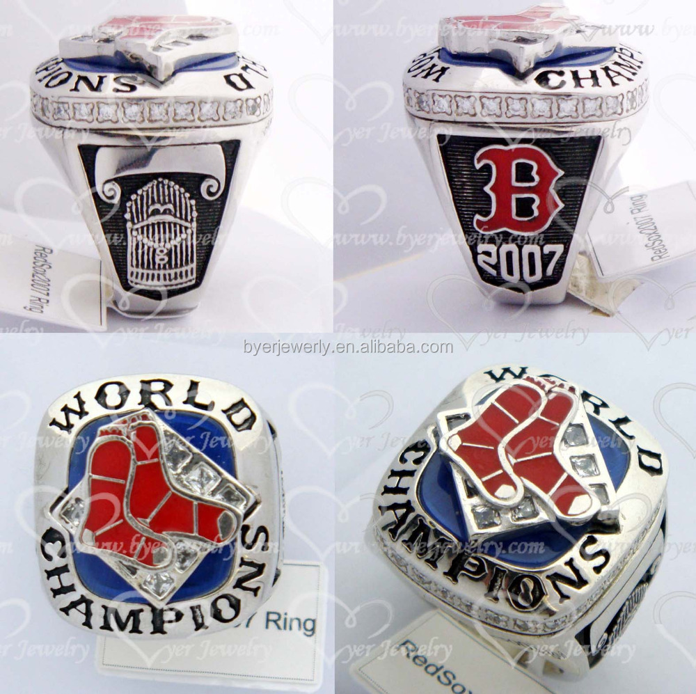 2007 Red Sox replica championship rings championship ring design your own championship ring