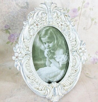 Custom do the old polyresin antique 12x8 photo frame