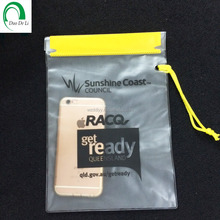 Custom made China supply printed iphone pvc bag for swimming running diving