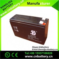 CE&UL 12 volt 8 ampere 20 hours rechargeable battery
