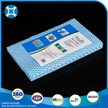 Easy use hygienic disposable dish washing cloth made of spunlace nonwoven fabric