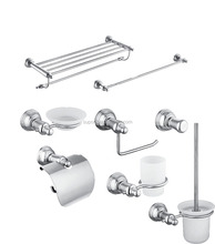 SUPOR-3801Wall Mounted stainless steel 304 hotel bathroom accessories set