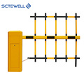 CE Approved Security Steel Barrier Automatic Car Parking Traffic Boom Barrier