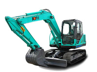 Heavy Construction Equipment Used Middle Excavator
