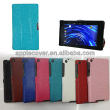 Crazy flip book cover case for google nexus 7 7' 2nd generation
