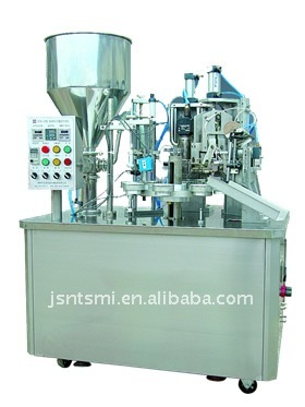SM pouch filling and sealing machine