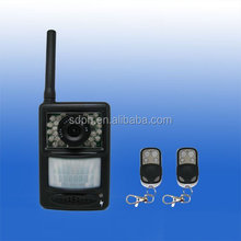 HOT!!! Emergency calling camera alarm system with sms MMS alert function,support remote control and video view on mobile G80