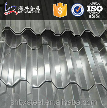 Construction Building 0.7MM Thick Aluminum Zinc Roofing Sheet
