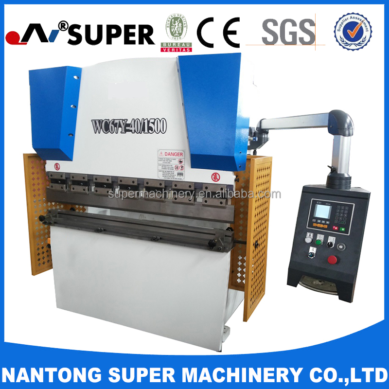 Hydraulic Manual Sheet Metal Bending Forming Press Brakers
