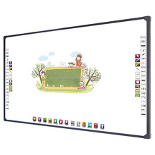 "Big size 96"" digital classroom touch writing interactive electric projector screen"