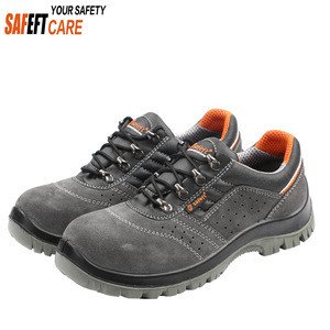 Factory low price women rubber woodland safety shoes