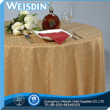 Satin Fabric manufacter Printed make tablecloth weights