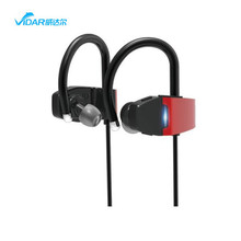 2018 New Sport wireless bluetooth headset earphone headphone earbuds with LED night light for safe running in the evening
