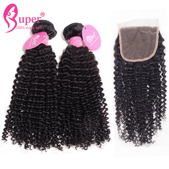 Brazilian Unprocessed Afro Kinky Curly Natural 4A 4B 4C Raw Cuticle Hair Human Strong Machine Doudle Drawn No Shedding
