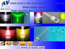 led diode 5mm clear lens light-emitting diode transparent round yellow long legs High light