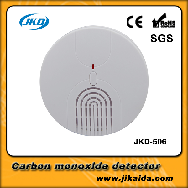 Wireless Smoke/fire Detector smoke alarm for Wireless For Touch Keypad Panel wifi GSM Home Security System with battery