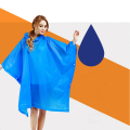Waterproof Cloak Disposable Raincoat PVC Raincoat Rain Poncho For Outdoor Activities