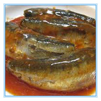 customize printing 425g canned fish in tomato sauce(ZNCF0003)