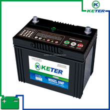 12v110AH auto battery keter brand lead acid maintenance free