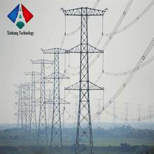 direct factory electric transmission line tower galvanized pole high tension steel utility poles