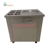 High Quality Egypt Rolled Fry Ice Cream Machine
